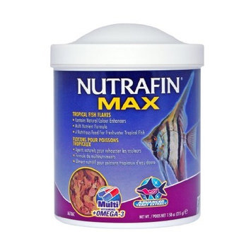 Hagen Nutrafin Max Tropical Fish Flakes, 7.58-Ounce