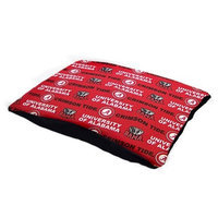 Pet Goods Mfg   Imports Pet Goods 36-Inch by 42-Inch Collegiate Pillow Pet Bed, University of Alabama