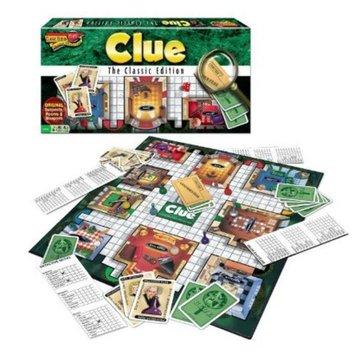 Hasbro Clue Classic