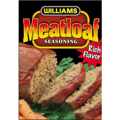 Williams Foods Williams Meatloaf Seasoning