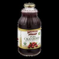 Lakewood Organic Fresh Pressed Pure Cranberry Juice