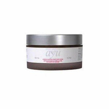 Ayu Natural Beauty Care Body Scrub Roses and Almond Honey 5.3 oz