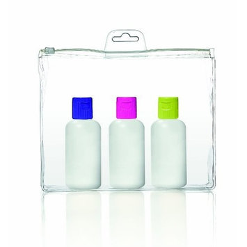 Travel Smart by Conair 3-oz. Travel Bottle Set