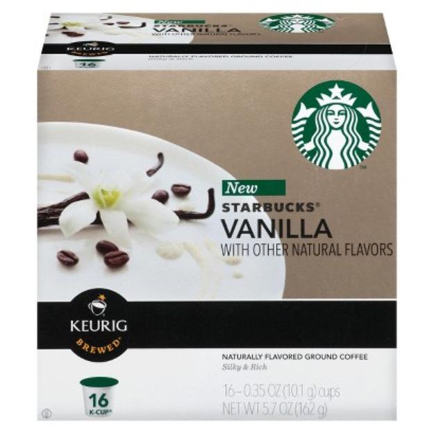 Starbucks Vanilla Flavored Coffee K-Cups