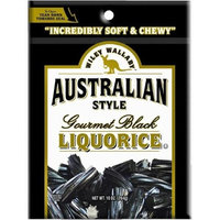 Liberty Distribution Wiley Wallaby Australian Style Licorice Candy - 10-ounce