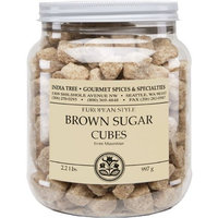India Tree Brown European-Style Sugar Cubes