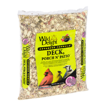 Wild Delight Deck, Porch N' Patio Wild Bird Food Advanced Formula