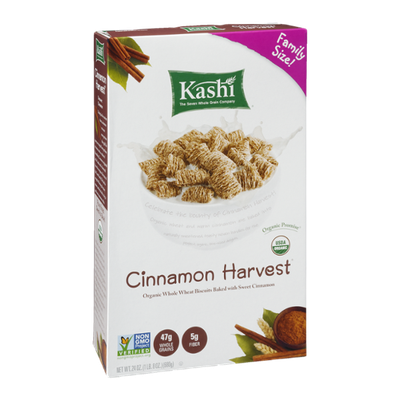 Kashi Cinnamon Harvest Organic Whole Wheat Biscuits