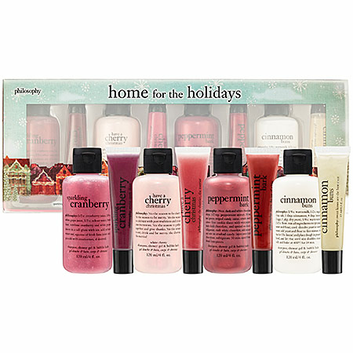 Philosophy Home For The Holidays Set