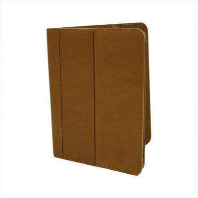Piel Leather Ipad Flip Case (Chocolate)