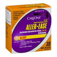 CareOne Aller-Ease Fexofenadine Hydrochloride Tablets