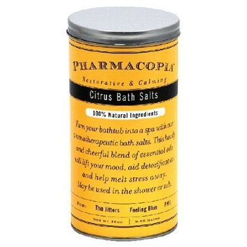 Pharmacopia Bath Salts, Citrus, 16-Ounces