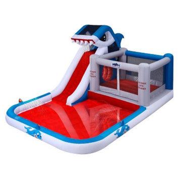 Blast Zone Shark Park Water Slide and Bouncer