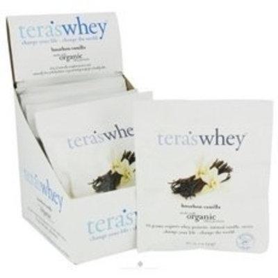 Tera's Whey Teraswhey Organic Bourbon Vanilla Whey Protein, 1 Ounce -- 12 per case.