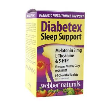 Diabetex Sleep Support Melatonin 3mg L-Theanine & 5-HTP, Tablets, 60 ea