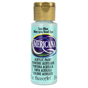 Deco Art Americana Acrylic Paint 2 oz-Spa Blue
