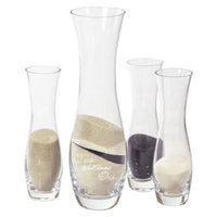 Cathy's Concepts 4-Piece Sand Ceremony Unity Set - Two Shall Become One