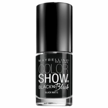 Maybelline Color Show Black To Black Nail Lacquer
