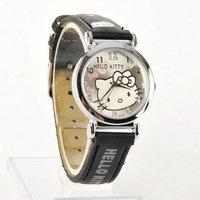 Hello Kitty Wristwatch Round Face Quartz Watch