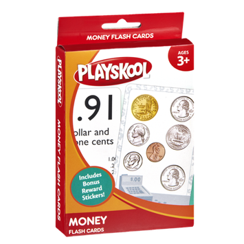 Playskool Ages 3+ Money Flash Cards