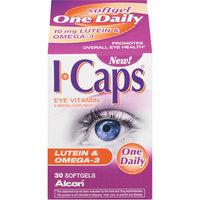 Alcon I-Caps Lutein & Omega-3 Vitamin & Mineral Supplement Softgels