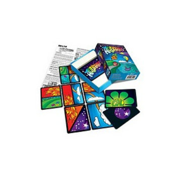 Looney Labs Aquarius Card Game Ages 6 and up, 1 ea