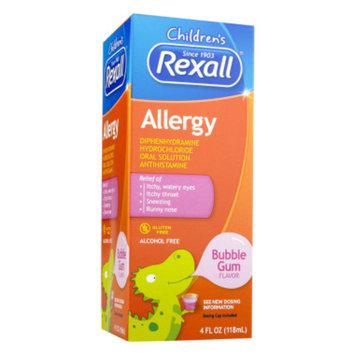 Rexall Children's Allergy - Bubble Gum, 4 oz
