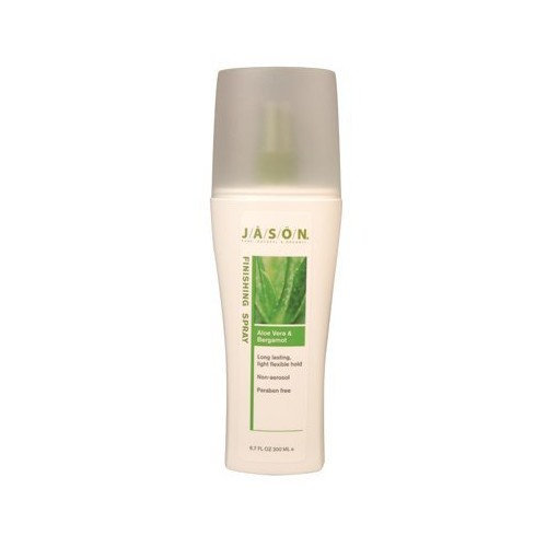 JĀSÖN Natural Aloe Vera & Bergamot Finishing Spray Hair Styling Serums