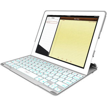 Zagg ZAGG ZAGGkeys PROfolio+ Keyboard for Apple iPad 4, White