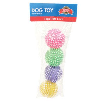 Grreat ChoiceA Spiky Ball Set Dog Toy