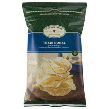 Archer Farms Traditional Homestyle Kettle-Cooked Potato Chips - 8 oz.