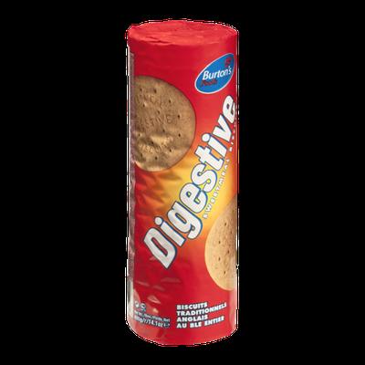 Burton's Food Digestive Sweetmeal Biscuits