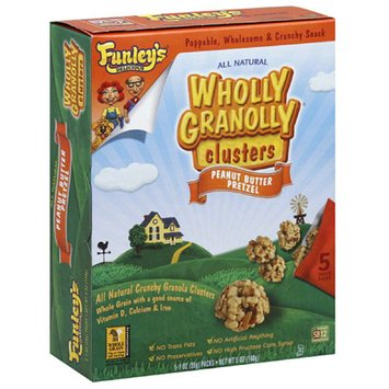 Funley's Delicious Wholly Granolly Granola Clusters 30 Pack