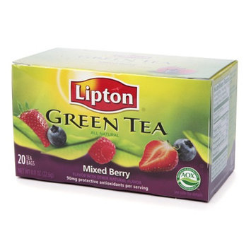 Lipton® Green Tea Mixed Berry Tea Bags