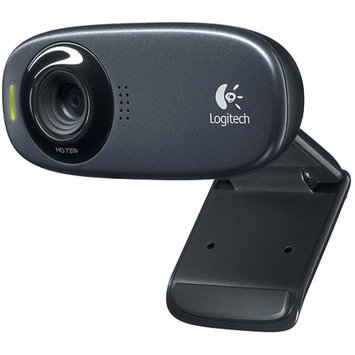 Logitech C310 Webcam - Black - USB 2.0 - 1 Pack(s)