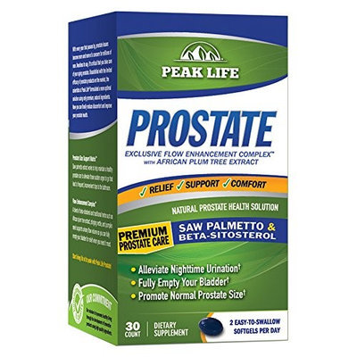 Peak Life Prostate 30 Softgels