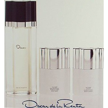 Oscar De La Renta Oscar Dela Renta Gift Set for Women (Eau De Toilette Spray, Body Lotion, Body Bath)