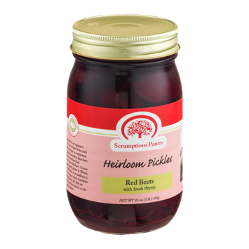 Scrumptious Pantry Heirloom Pickles Red Beets with Fresh Thyme