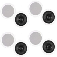 Theater Solutions 4CS4C In-Ceiling Surround Home Theater Surround (Pack of 4 Pairs)