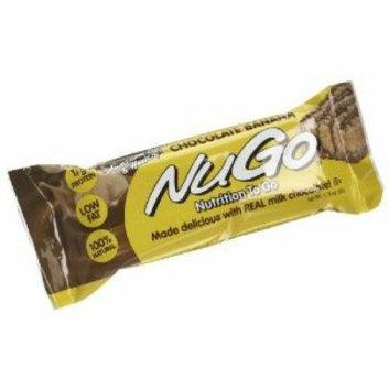 Nugo Nutrition Bar Chocolate Banana Case of 15 1.76 oz