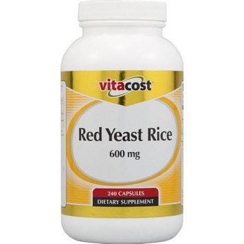 Vitacost Brand Vitacost Red Yeast Rice -- 600 mg - 240 Capsules