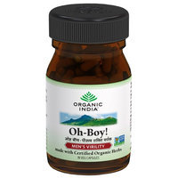 Organic India Oh-Boy! Men's Virility 30 Veg Capsules - Vegan