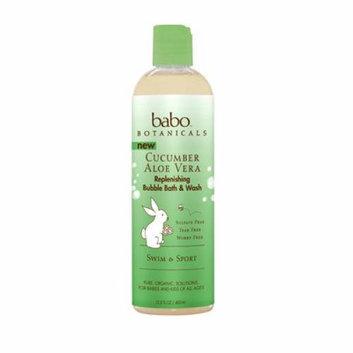 Babo Botanicals Bubble Bath and Wash Cucumber 13.5 oz