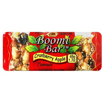 Boomi Bar Rise Crunchy Cranberry Apple Breakfast Bars