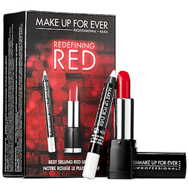 MAKE UP FOR EVER Redefining Red