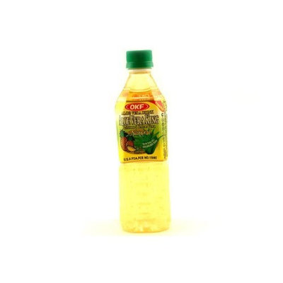 OKF Aloe Vera King Juice Pineapple, 16.9-Ounce (Pack of 20)
