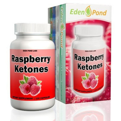 Eden Pond Labs LLC Eden Pond Ketones 250mg Highest Quality Capsules, Raspberry, 120 Count
