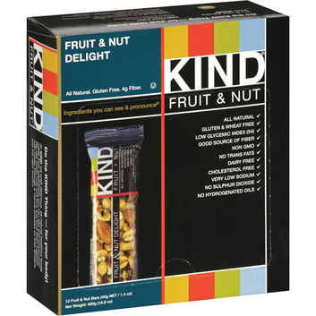 KIND Bars fruit & nut