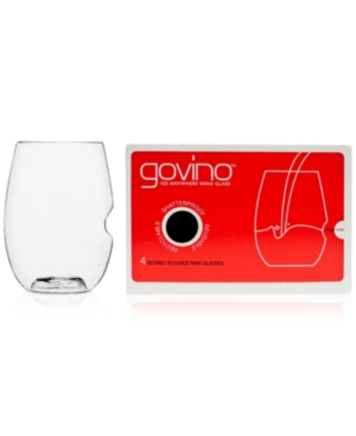 Govino GoVino Red Wine Glasses, Set of 4