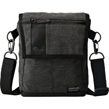 Lowepro Streetline SH 120 Camera Shoulder Bag, Charcoal Gray